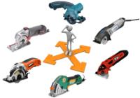 Выбор между шестью моделями мини-пил (роторайзеров)