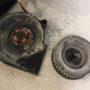 Две части вентилятора увлажнителя дочистки