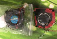 Старый и новый вентилятор 5015 для Polaris PUH 3504