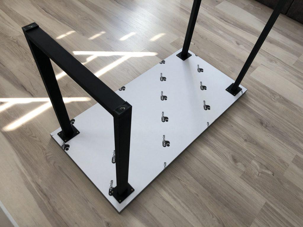 Сборка стола лофт из Леруа Мерлен
