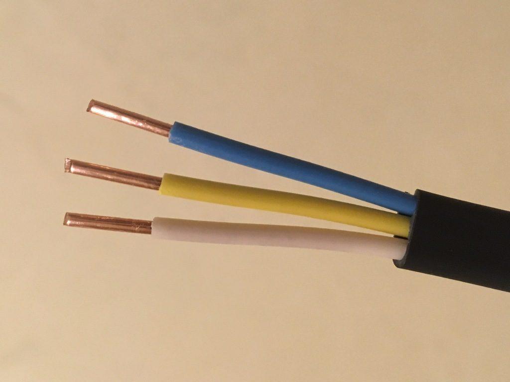 Цвета провода в электрике